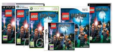 Lego Harry Potter is available in most formats